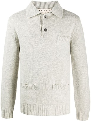 Marni Knitted Polo Top