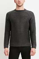Forever 21 FOREVER 21+ Textured Raglan Sweater