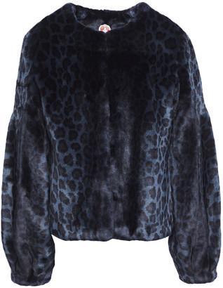 Shrimps Fergal Leopard-print Faux Fur Jacket