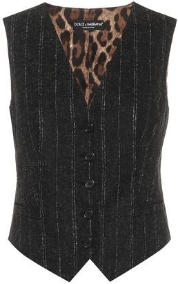 Dolce & Gabbana Pinstriped vest