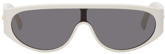 Bottega Veneta White Mask Sunglasses