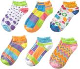 Jefferies Socks Modow Cut 6 Pack Patterned Socks