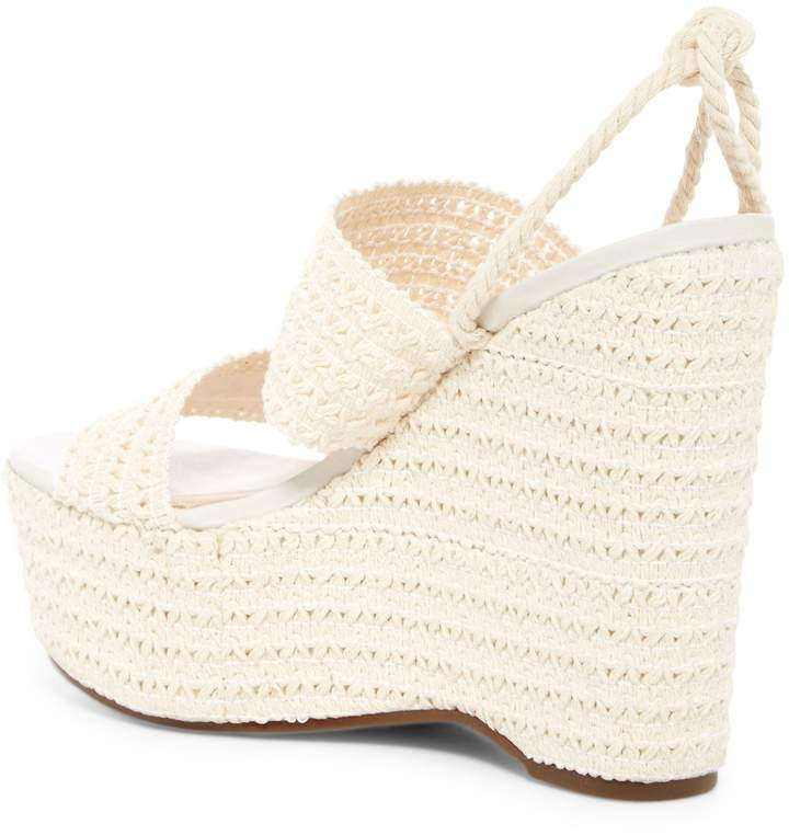 Schutz Bendy Platform Wedge Sandal