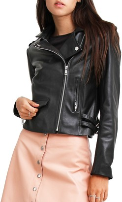 Belle & Bloom Just Friends Leather Jacket