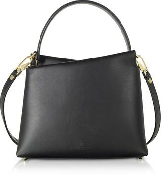 Lara Bellini Genuine Leather Vela Mini Top Handle Bag