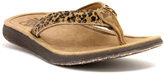 Lamo Chestnut Epic Leather Flip-Flop - Women