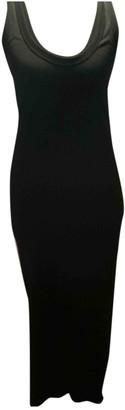 Enza Costa Black Cotton Dresses