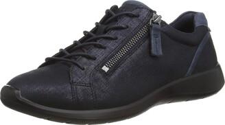Ecco Women's Soft 5 Side Zip Sneaker