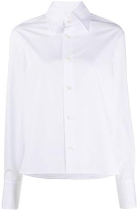 Saint Laurent Oversized Pointed Collar Shirt