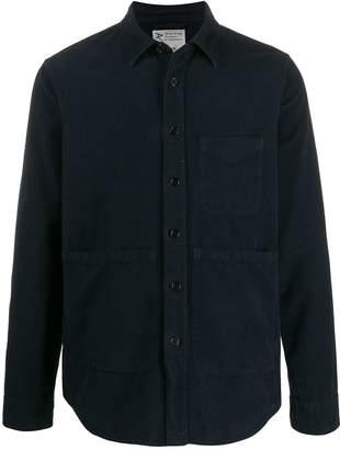 Aspesi pocket detail fitted shirt jacket