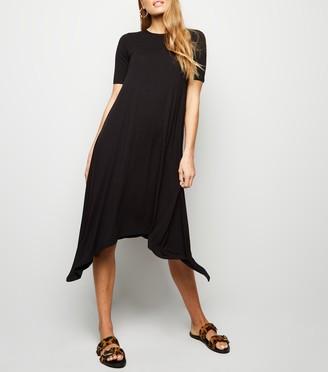 New Look Hanky Hem T-Shirt Dress
