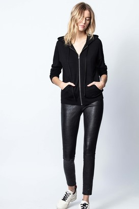 Zadig & Voltaire Sixtine Skull Strass Cardigan
