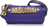 Moschino Blue Fabric Shoulder Bag