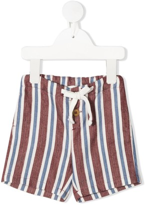 Zhoe & Tobiah Tie Waist Striped Shorts