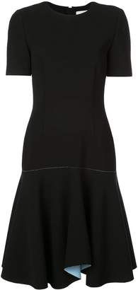 Jason Wu Collection contrast lining flared dress