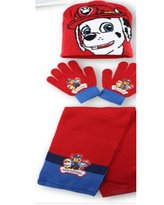 Official Licensed Product NEW NICKELODEON PAW PATROL WINTER KNITTED SCARF, HAT & GLOVE SET