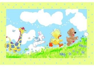 "Fun Rugs Little Suzy's Zoo Looking For The Wishing Puff 39"" x 58"" Rug"
