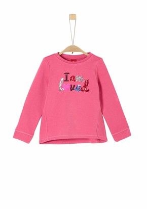 S'Oliver Girls' 53.909.41.2431 Sweatshirt