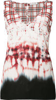 Altuzarra dyed effect top - women - Silk - 36