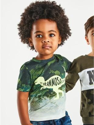 M&Co Dinosaur t-shirt (9mths-5yrs)