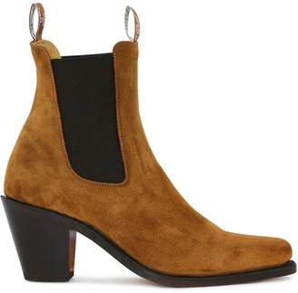 R.M. Williams Heeled Suede Boots