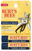 Burt's Bees Lip Balm, Vanilla Bean Blister Box 2-Pack