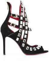 Cesare Paciotti studded bootie sandals
