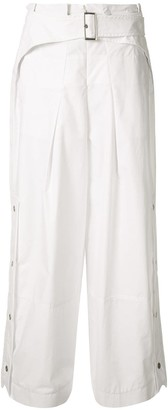 3.1 Phillip Lim Utility Belted Side Snap Trousers