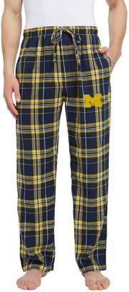 NCAA Men's Michigan Wolverines Hllstone Flannel Pants