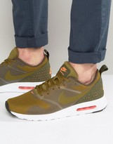 Nike Air Max Tavas Trainers In Green 705149-304