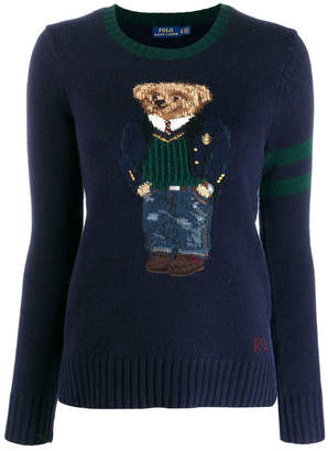 Polo Ralph Lauren Sweater With Embroidered Bear