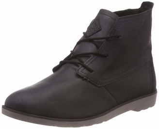 Reef Women's Voyage Desert Ankle Boots Black (Black Bla) 6.5 UK