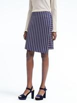 Banana Republic Stripe Crossover Skirt