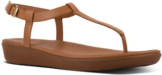 FitFlop Tia TM Leather T-Strap Sandals