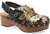 Gucci 'Amstel' Floral Jacquard Clog (Women)
