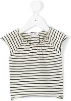 Babe And Tess - striped blouse - kids - Cotton - 6 mth