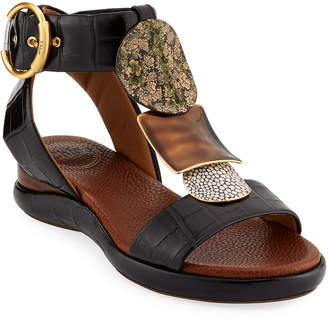 Chloé Wanda Flat Tall Gladiator Sandals