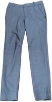 Chloé Grey 100% Wool Trousers