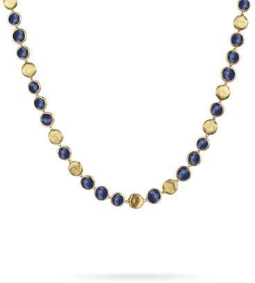 Marco Bicego Jaipur 18K Gold Lapis Lazuli Collar Necklace