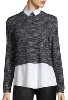 Alice + Olivia Maelynn Faux Layered Top