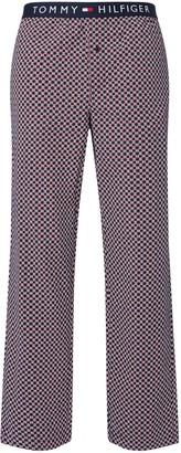 Tommy Hilfiger Geo Print Poplin Lounge Pants, Navy Blazer