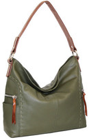 Nino Bossi Women's Kyah Leather Hobo Bag