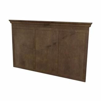 Akin Carnagie Hill Panel Headboard Size: Double
