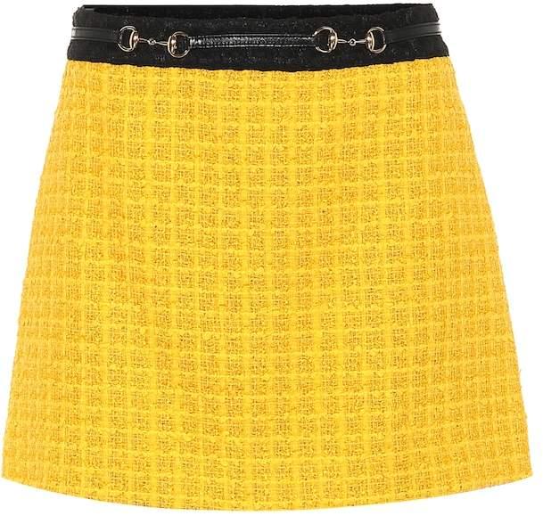 b7f85203b7 Gucci Tweed Skirt - ShopStyle