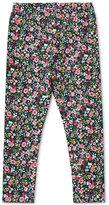 Ralph Lauren Floral-Print Leggings, Toddler & Little Girls (2T-6X)