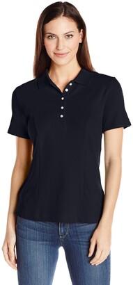 Riders by Lee Indigo Women's Morgan Short Sleeve Polo Shirt