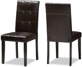 Baxton Studio Modern Dining Chair 2-piece Set