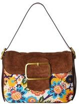 Tory Burch Sawyer Needlepoint Shoulder Bag Shoulder Handbags