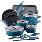 Rachael Ray Rachael RayTM Porcelain Nonstick 14-Piece Cookware Set in Marine Blue