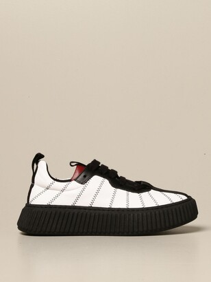Marni Sneakers In Leather With Multi-stitching